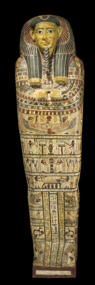 Coffin of Irthorru, son of Abzu and Tahir 26/27 Dyn National Museums Scotland