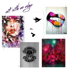 Art with an Edge Bold, colorful art is hands-down one of our favorite things here at #UDHQ. Some of the art we've seen has even inspired our packaging designs. Check out some of our favorite pieces. Check out these artists here: 1 | 2 | 3 | 4 | 5 Who are your favorite artists, UDers?