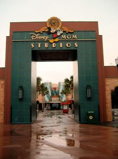 Disney MGM Studios (now known as Hollywood Studios) in Orlando, FL