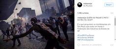 Manifestantes invadem prédio da Fiesp na Paulista