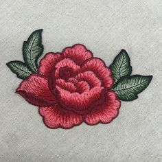 13*9cm 3D rose peony flower patch Embroidered garment Appliques sew On Patches Clothes cheongsam wedding dress Accessory