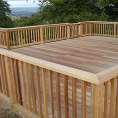 Wood deck railing ideas – When it comes to deck handrails, there are several ways to go. From simple wooden rails to complete walls on your deck, the choices are endless. Deck railing can be added for safety, privacy or decorating reasons. Deck is not finished without some sort of railing system to make it […] Tags: deck top rail ideas, wall railing ideas, deck railing designs wood, deck handrail ideas, deck handrails ideas, deck railing ideas wood, unique deck #deckdesigner