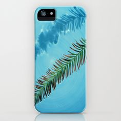 Leaf on Water iPhone & iPod Case by Celia Dias - $35.00