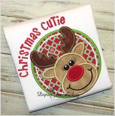 Rudolph Christmas Cutie Christmas Shirt for Children - Reindeer Christmas Shirt