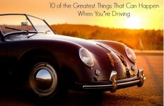 10 of the Greatest Things That Can Happen When You're Driving. You're gonna love this list... #sotrue #lol #spon