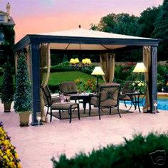 Outdoor Gazebo | Choosing A Perfect Outdoor Gazebo For Your Garden