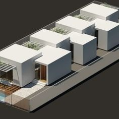 5-1 Module Architecture, Architecture Concept Drawings, Residential Architecture, Interior Architecture, Modular Housing, Social Housing, Simple House, Building Design, Planer