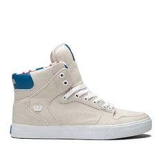 SUPRA VAIDER | OFF WHITE - WHITE | Official SUPRA Footwear Site