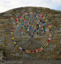 Stone Art Blog: The Family Tree Mosaic