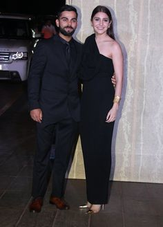 #viratkohli #anushkasharma #goldnglamorous #manishmalhotras50thbday Anushka Sharma And Virat, Virat Kohli And Anushka, Celebrity Couples, Celebrity Style, Formal Wear, Formal Dresses, Bollywood Party, Manish Malhotra, Jacqueline Fernandez