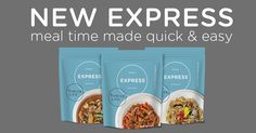 Try out the New and Improved Thrive Express Meals.  Non-GMO!!  Great for everyday meals, super to take when you are camping!!
