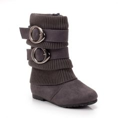 Girls Suede Boot