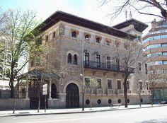 Palacete Garay. calle Almagro.1914
