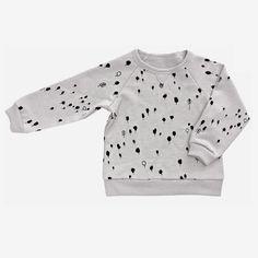 Kid & Kind Forest Fleece Sweatshirt - Cloud