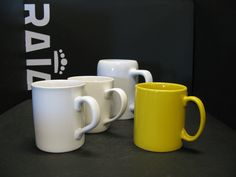 Standard #mugs for #sublimation and #CLC in many colours and shapes