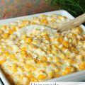 Homemade Creamed Corn in the Crockpot