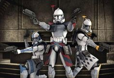 Advanced Recon Commandos—also known as Advanced Recon Clone troopers or simply ARC troopers—were an elite variant of clone trooper in the Grand Army of the Republic during the Clone Wars. Although less numerous than the other clones, they were also among the most skilled soldiers in the galaxy.