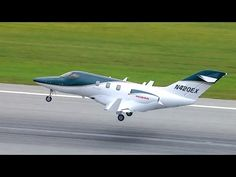 BJT's Matt Thurber recently flew the new HondaJet at Honda Aircraft Company's Greensboro, North Carolina production facility. The new business jet is . Honda Jet, Personal Jet, Amphibious Vehicle, Jet Plane, Speed Boats, Water Crafts, Luxury Travel, Touring, Fighter Jets