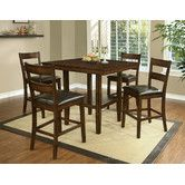 Found it at AllModern - 5 Piece Counter Height Dining Set