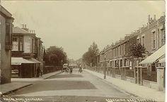 Duncan Road, Southsea, Hampshire. Original Barkshire Bros RP,1907