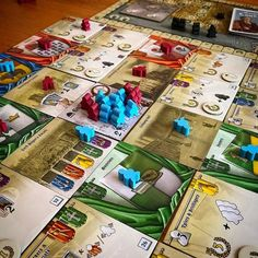 """141 Likes, 3 Comments - Board Game Meeple BGG (@boardgamemeeple) on Instagram: """"Guilds of London! Back on the table and had a really enjoyable game, the card mechanics work so…"""""""