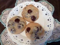 Ingredients for Cookies  ½ cup honey  ½ cup butter  1 egg  1 tsp vanilla  1 ½ cups flour  ½ tsp soda  ¼ tsp baking powder  ½ tsp salt  ½ cup walnuts – I roast mine in the oven first for 8 minutes to bring out the snap of the nuts.  1 cup chocolate chips – I used Ghiradelli Dark