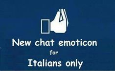 Italian humor.