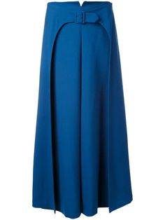 Vilshenko Belted A-line Skirt - Accessories of Women Jackets For Women, Pants For Women, Clothes For Women, Fashion Pants, Fashion Dresses, Moda Online, Blouse Styles, A Line Skirts, Maxi Skirts