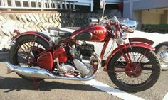 1937 BSA M20 Classic Motorcycle Pictures