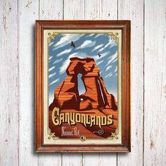 Canyonlands National Park Poster