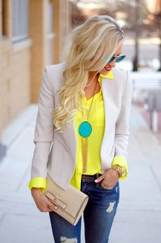 45 Work Outfits to Wear this Summer - Latest Fashion Trends #womenworkoutfits