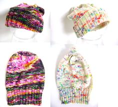 Creative Designs by Sheila Zachariae: Baby Slouchy Hats Pattern!