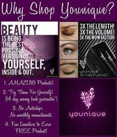 Be Bold. Be Beautiful. Be Younique.