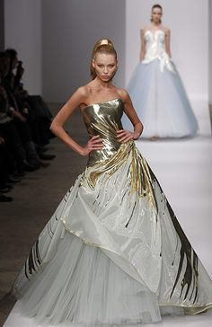 Fashion Week. Models present creations by Georges Chakra.
