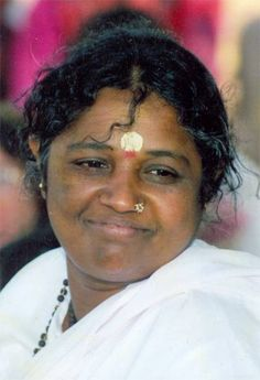 """Amma - """"If you have true faith, then automatically you will """"fall"""" from the head into the heart"""""""