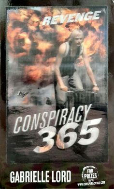 Revenge by Gabrielle Lord Conspiracy 365 1st edition used paperback young adult
