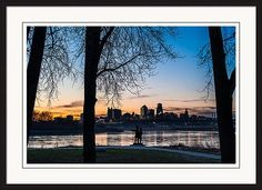 Kaw Point Print featuring the photograph Kaw Point Park by Jeff Phillippi