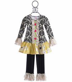 Giggle Moon Happy and Joyful Girls Mabel Dress and Pant