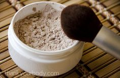 All-Natural Foundation  What You'll Need: Arrowroot powder, cocoa powder, ground cinnamon, nutmeg, and jojoba, olive, or almond oil (optiona...