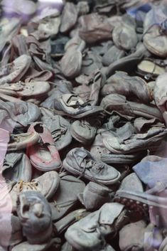 Children's shoes from Auschwitz :'(