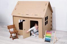 Nasz wybór: Domek z kartonu, Obi Kids And Parenting, Toy Chest, Storage Chest, Toddler Bed, Toys, Baby, Furniture, Disney, Home Decor