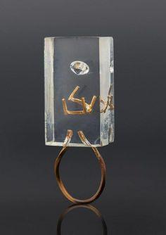Ring by Yaron Shmerkin #contemporaryjewelry #designerjewellery