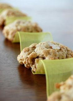 Vanilla Almond Granola Cookies  http://www.culinaryconcoctionsbypeabody.com/2008/03/27/the-day-we-almost-diedor-so-my-parents-tell-me/