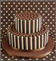 Chocolate Birthday Cake Icing Ideas - Share this image!Save these chocolate birthday cake icing ideas for later by share t Chocolate Rice Krispie Cakes, Chocolate Fudge, Chocolate Buttercream, Chocolate Chocolate, Chocolate Finger Cake, Oreo Frosting, Chocolate Dreams, Chocolate Biscuits, 18th Birthday Cake