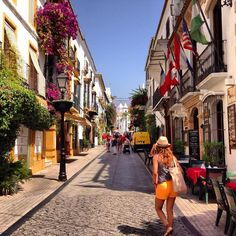 Old Town, Marbella, Spain Places Around The World, Oh The Places You'll Go, Places To Travel, Places To Visit, Around The Worlds, Malaga, Marbella Spain, Marbella Old Town, Madrid