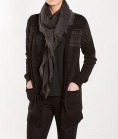 Setesdal Boyfriend Cardie BlackPewter Retail Shop, Scandinavian Design, Boyfriend, Shopping, Women, Fashion, Moda, Fashion Styles, Fashion Illustrations