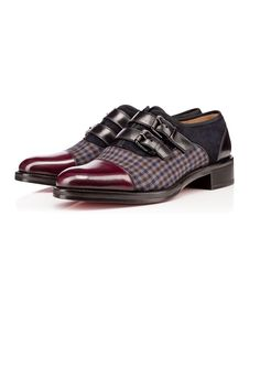 Christian Louboutin Men Derby : Discover the latest Men Derby collection available at Christian Louboutin Online Boutique. Formal Shoes For Men, Best Shoes For Men, Men S Shoes, Christian Louboutin, Louboutin Shoes, Derby, Fashion Shoes, Mens Fashion, Monk Strap Shoes