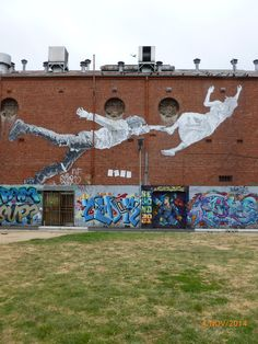 Street Art Paste Up, Footscray