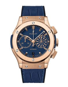 The Classic Fusion Mykonos watch by Hublot (via Vogue France)
