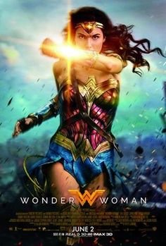 An Amazon princess (Gal Gadot) finds her idyllic life on an island occupied only by female warriors interrupted when a pilot (Chris Pine) crash-lands nearby. After rescuing him, she learns that World War I is engulfing the planet, and vows to use her superpowers to restore peace. Directed by Patty Jenkins (Monster).